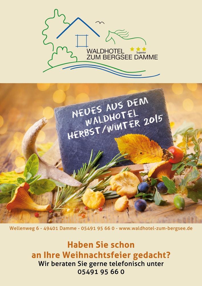 Unsere Aktionen im Herbst/ Winter 2015